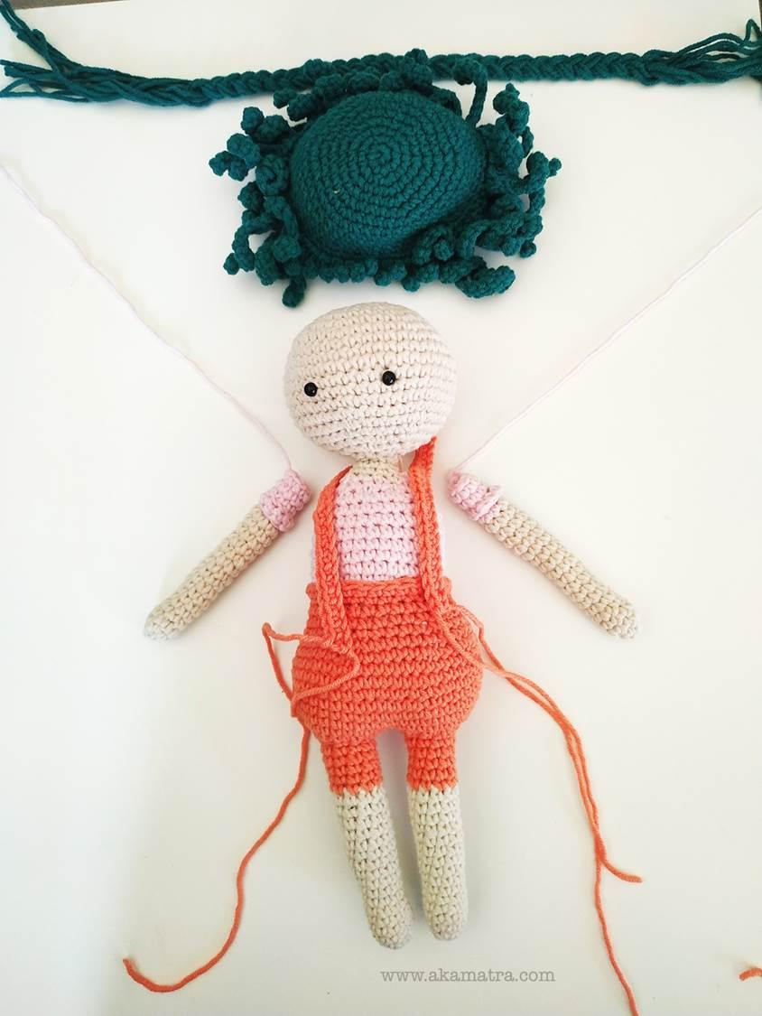 Free Crochet Amigurumi Doll Pattern Tutorials | Crochet dolls free ... | 1125x844