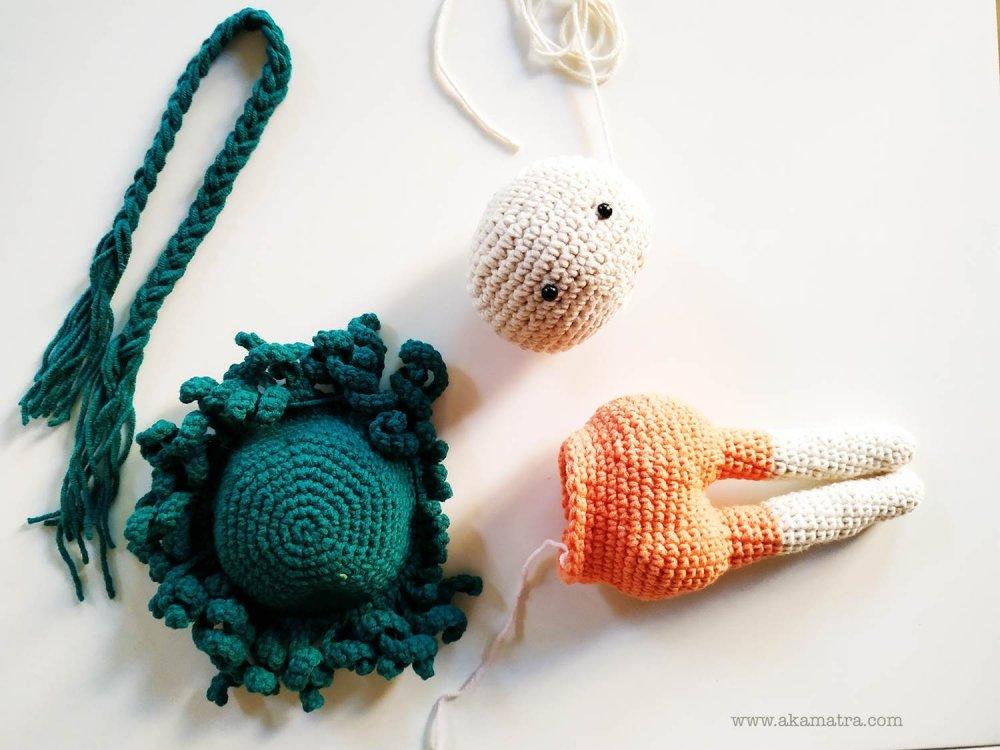 Amigurumi Doll İnnocent Baby Free Crochet Pattern - Örgü Modelleri | 750x1000