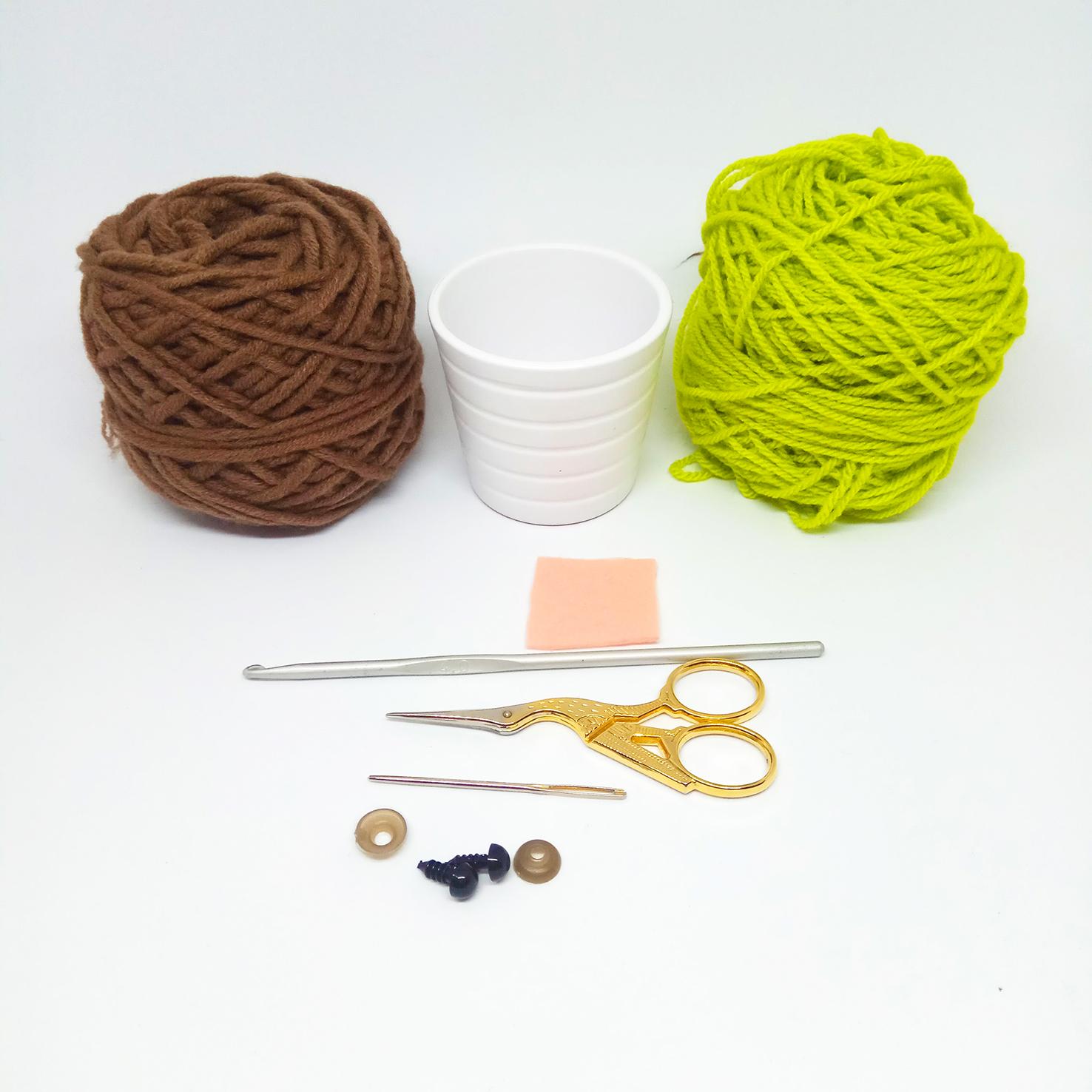 Free Pattern: Kawaii Succulent by 3amgrace - Bella Coco Crochet | 1476x1476