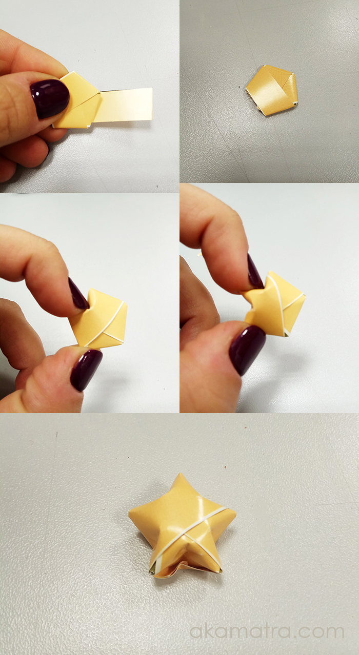 How to Make an Origami Star Instructions | Papperspyssel | 1278x700