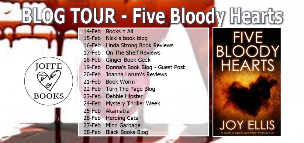 BLOG TOUR BANNER Five Bloody Hearts