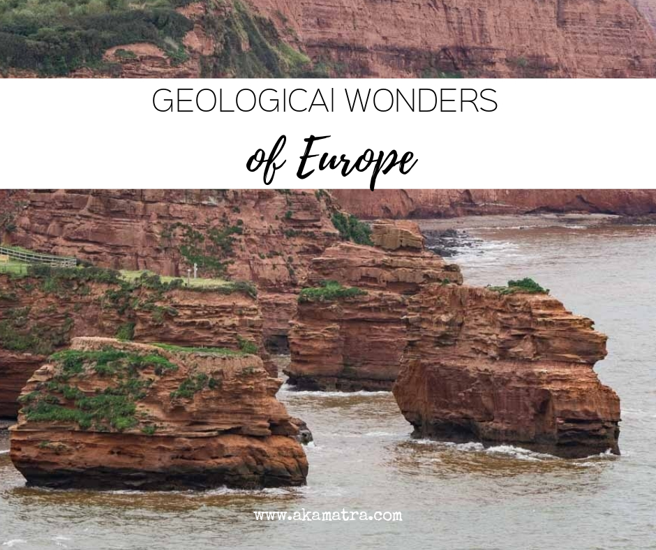 Geological wonders of Europe