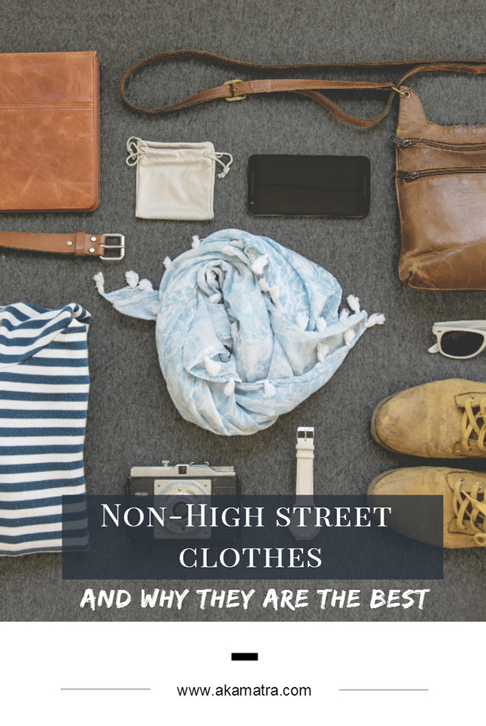 Why Non-High Street Clothes are the Best