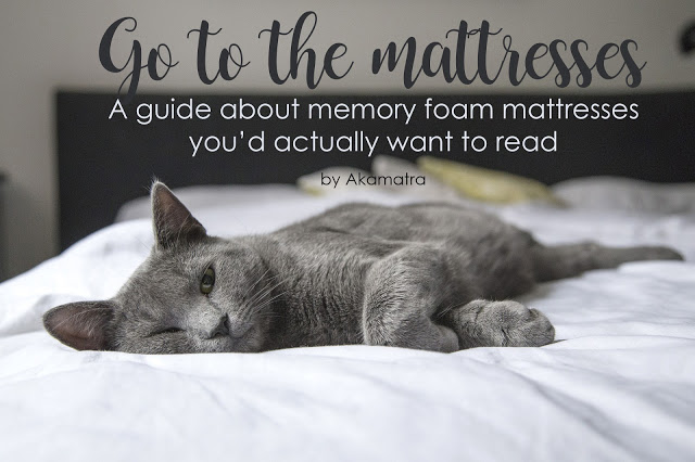 Go to the mattresses – A guide about memory foam mattresses you'd actually want to read
