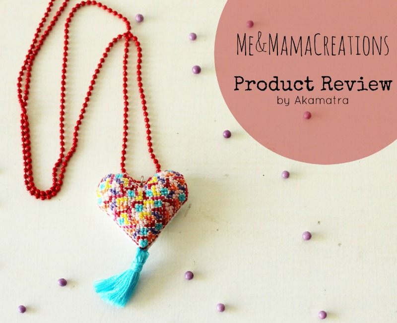 Colorful and fun jewelry from Me and Mama Creations. A product review and a giveaway!