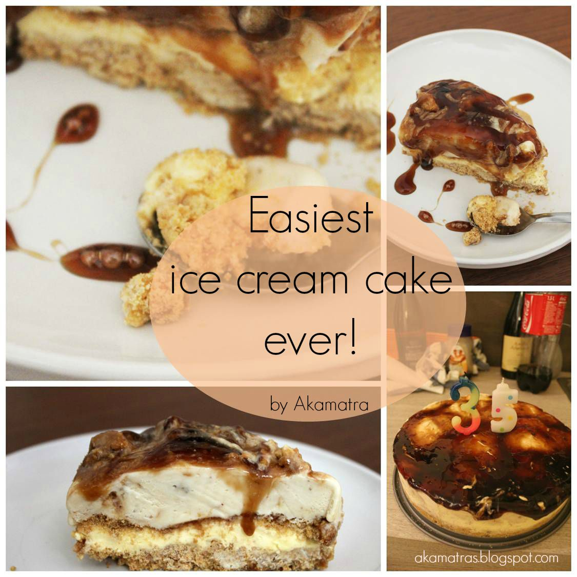 Easiest ice cream cake recipe - No ice cream machine needed