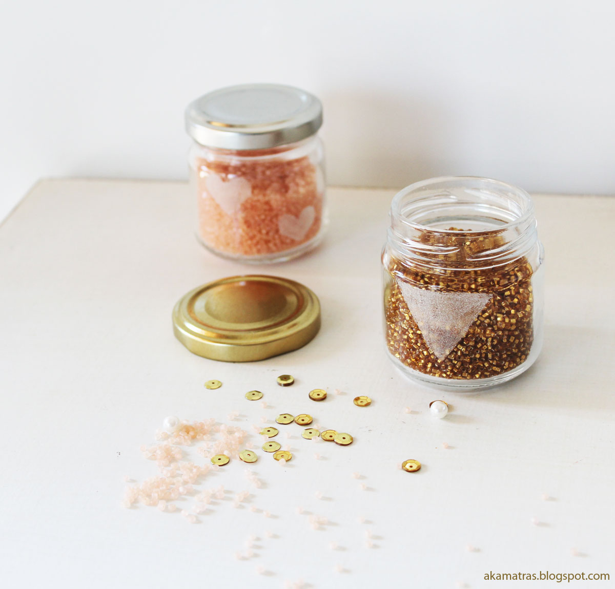Etching glass jars - A tutorial