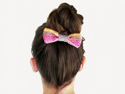Hair Buns are FUN! Three tutorials to easy hair buns.