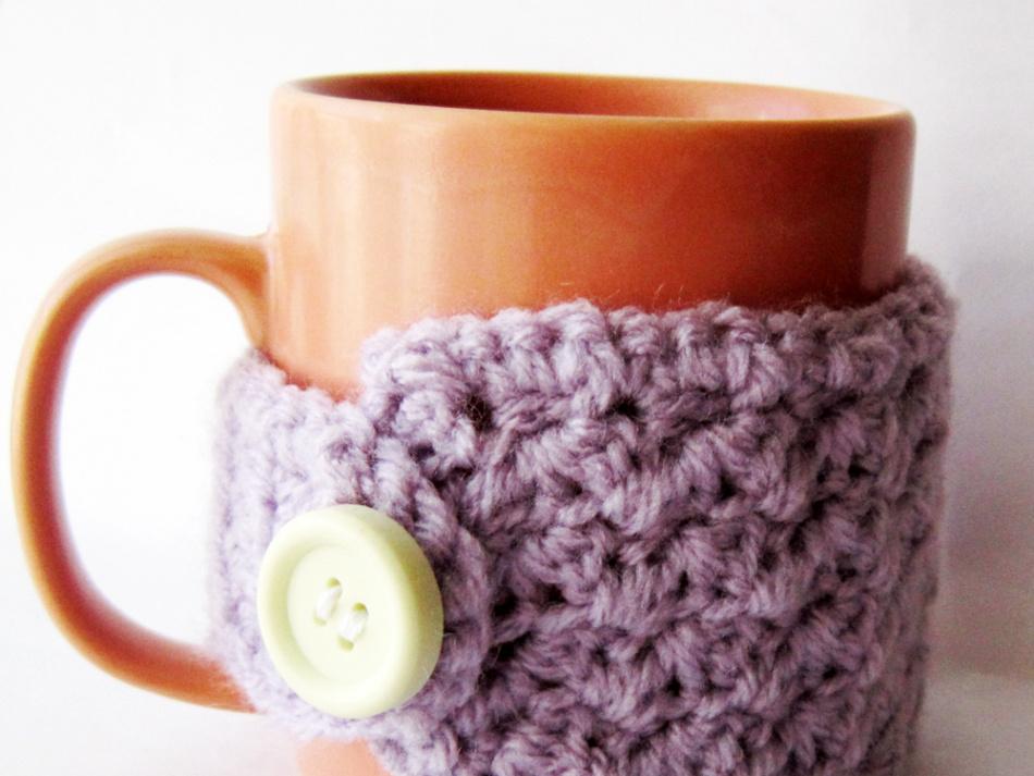 Easy Crochet Mug Cozy Free Pattern Akamatra