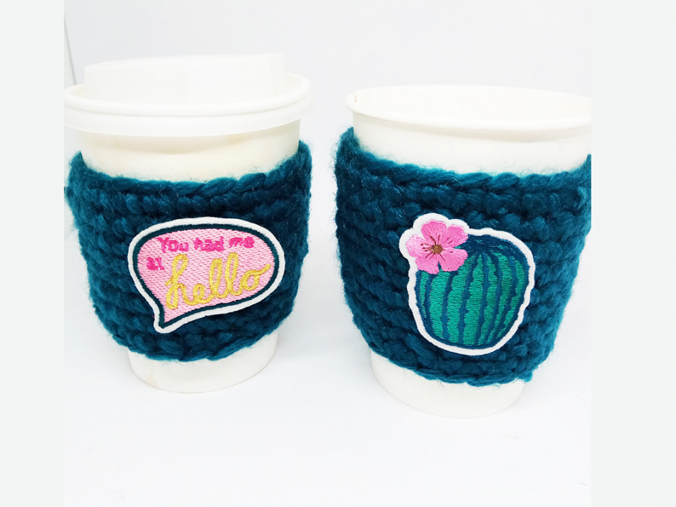 travel cup cozy crochet pattern